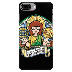 Our Lady of Sarcasm Exclusive - iPhone Case - Phone Cases - RIPT Apparel