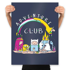 Adventure Club - Prints - Posters - RIPT Apparel