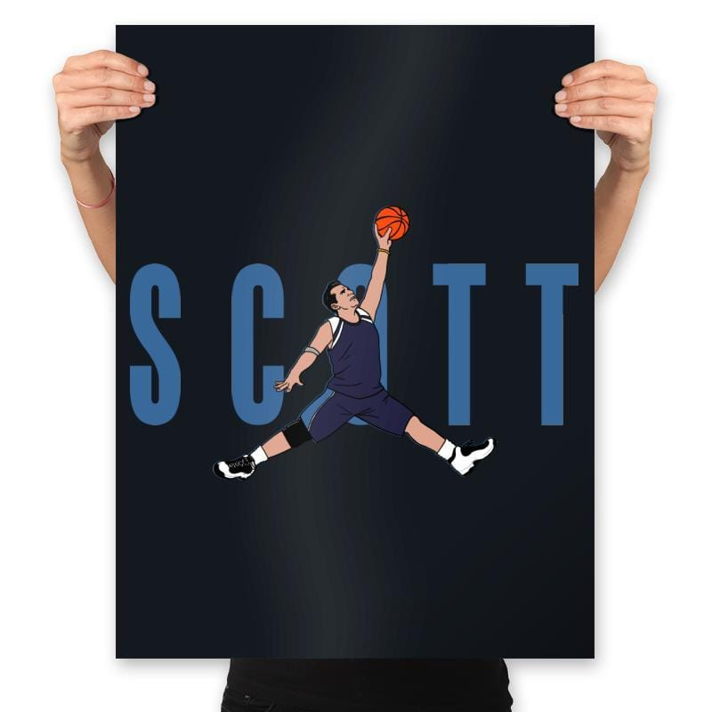 Air Scott - Prints - Posters - RIPT Apparel