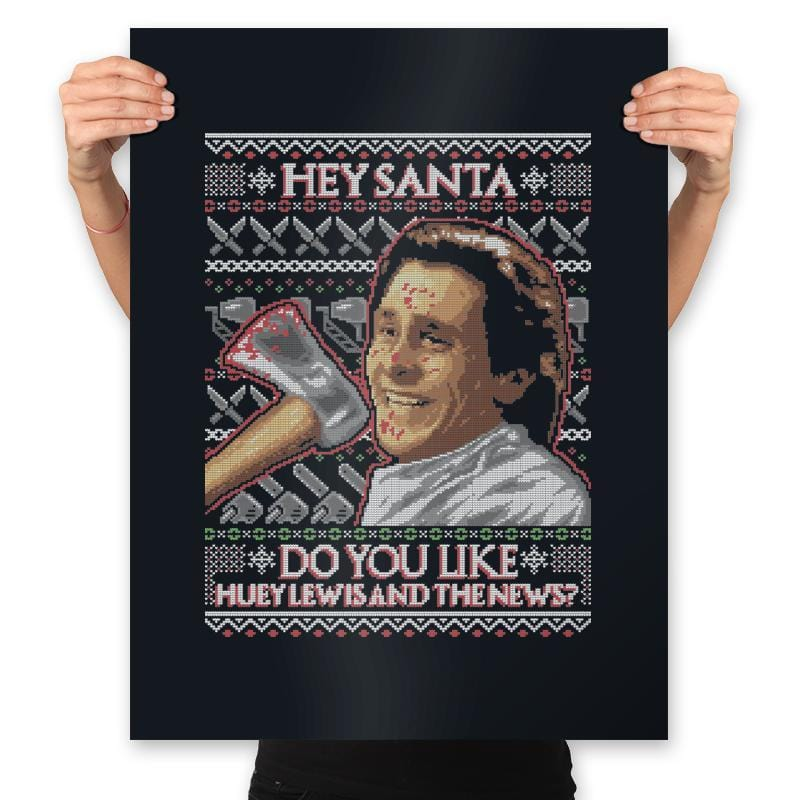 American Santa - Ugly Holiday - Prints - Posters - RIPT Apparel
