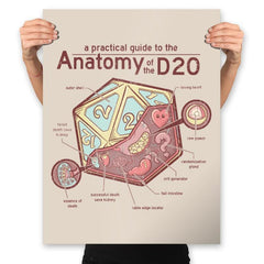 Anatomy of the D20 - Prints - Posters - RIPT Apparel