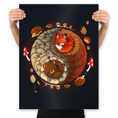 Autumn - Prints - Posters - RIPT Apparel