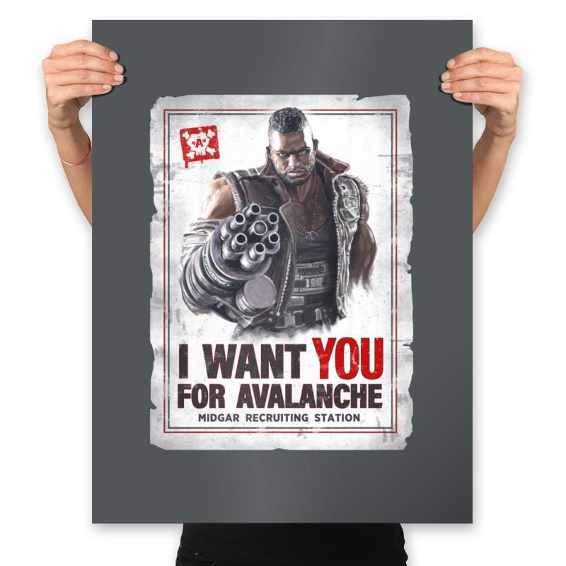 Avalanche Needs You - Prints - Posters - RIPT Apparel