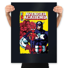 Avenger Academia - Anytime - Prints - Posters - RIPT Apparel