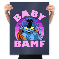 Baby Bamf - Prints - Posters - RIPT Apparel