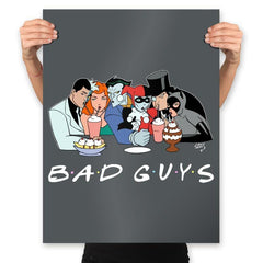 Bad Friends - Prints - Posters - RIPT Apparel