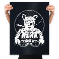 Barf Is My Copilot - Prints - Posters - RIPT Apparel