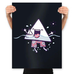 Bermuda Triangle - Prints - Posters - RIPT Apparel
