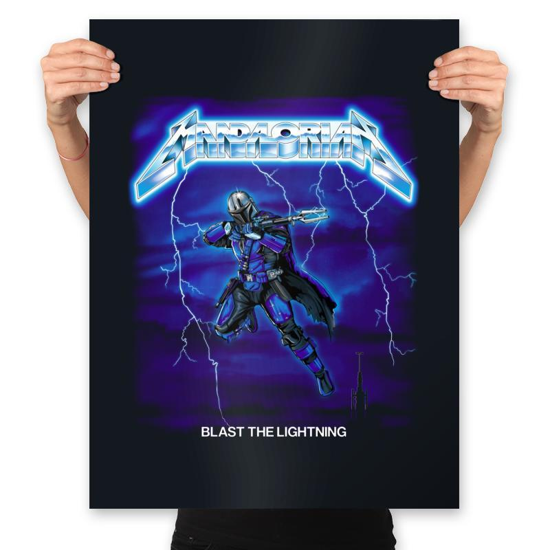 Blast The Lightning - Anytime - Prints - Posters - RIPT Apparel