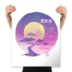 Bonsai Wave - Prints - Posters - RIPT Apparel