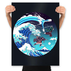 Breath of the Great Wave - Prints - Posters - RIPT Apparel