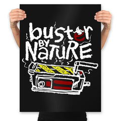 Buster By Nature - Prints - Posters - RIPT Apparel