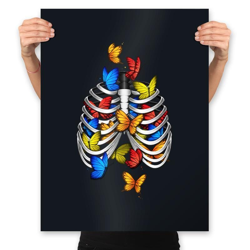 Butterflies In My Stomach - Prints - Posters - RIPT Apparel