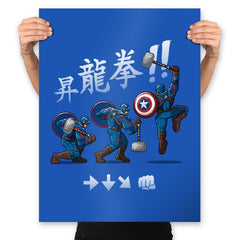 Cap Shoryuken - Anytime - Prints - Posters - RIPT Apparel