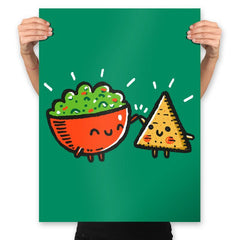 Chips And Guac - Prints - Posters - RIPT Apparel