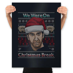 Christmas Break Up - Prints - Posters - RIPT Apparel