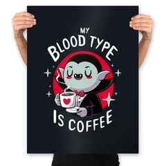 Coffee Vampire - Prints - Posters - RIPT Apparel