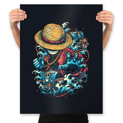 Colorful Pirate - Prints - Posters - RIPT Apparel