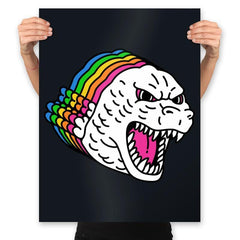 Colors of Godzilla - Prints - Posters - RIPT Apparel