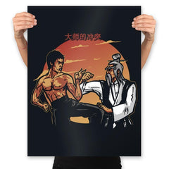 Conflict of Masters - Prints - Posters - RIPT Apparel