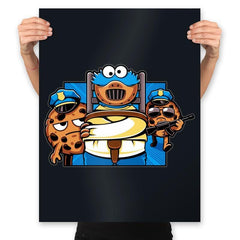 Cookie Devourer - Prints - Posters - RIPT Apparel