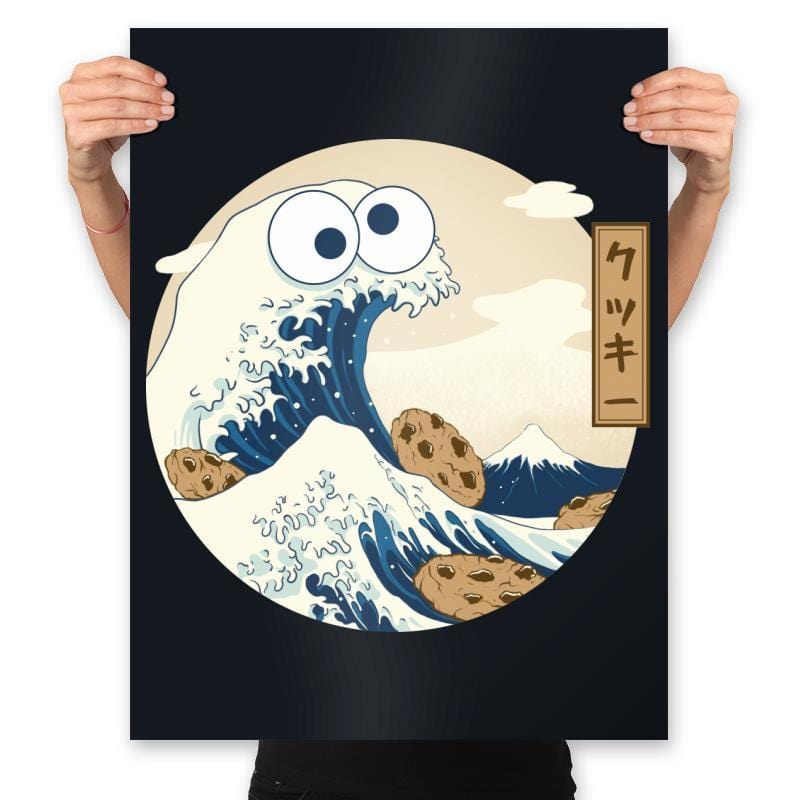 Cookiegana Wave - Prints - Posters - RIPT Apparel