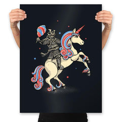 Cotton Candy Warrior - Prints - Posters - RIPT Apparel