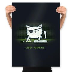 Cyber Puurate - Prints - Posters - RIPT Apparel