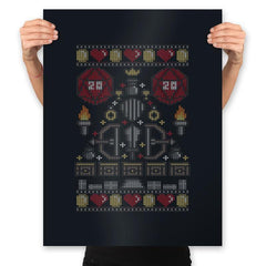 D-20 Sweater - Ugly Holiday - Prints - Posters - RIPT Apparel