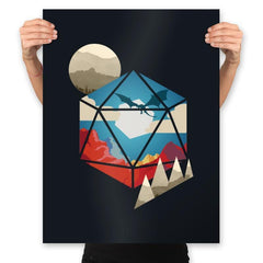 D20 World - Prints - Posters - RIPT Apparel