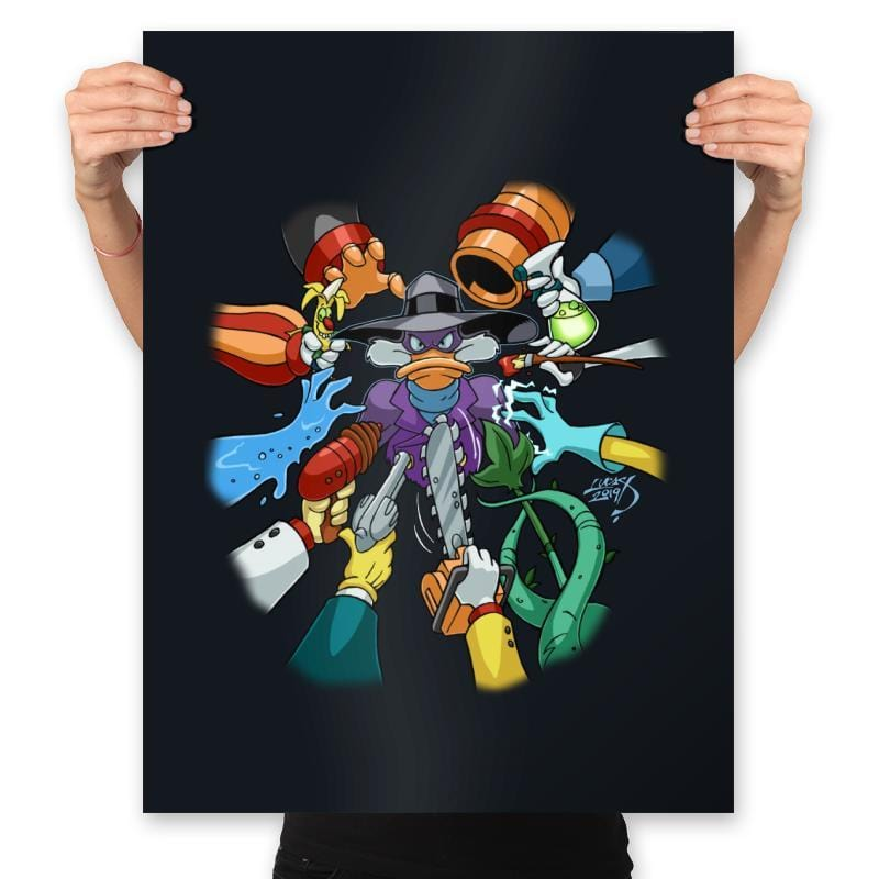 Darkwick Duck - Prints - Posters - RIPT Apparel