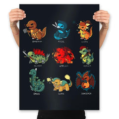 Dinosaur Role Play - Prints - Posters - RIPT Apparel