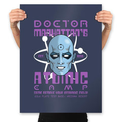 Doctor's Atomic Camp - Prints - Posters - RIPT Apparel