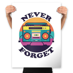 Don't Forget Me - Prints - Posters - RIPT Apparel