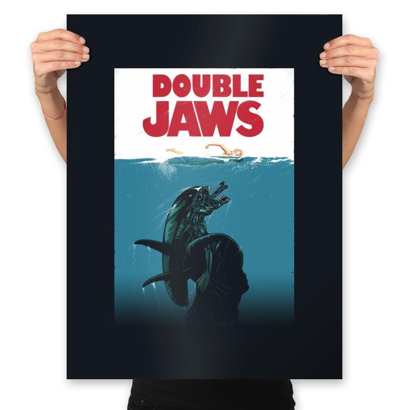 Double Jaws - Prints - Posters - RIPT Apparel