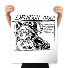 Dragon Youth - Prints - Posters - RIPT Apparel