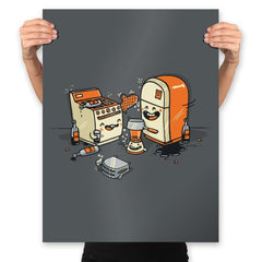 Drunk Kitchen - Prints - Posters - RIPT Apparel
