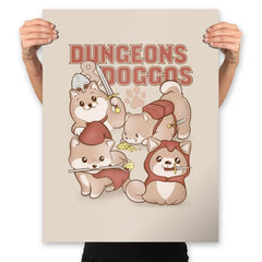 Dungeons & Doggos - Prints - Posters - RIPT Apparel