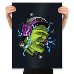 Electric Vibe - Prints - Posters - RIPT Apparel