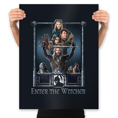 Enter The Witcher - Prints - Posters - RIPT Apparel