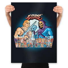 Eternia Fighter - Prints - Posters - RIPT Apparel