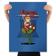 Eternian Time - Prints - Posters - RIPT Apparel
