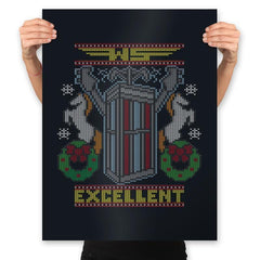 Excellent Sweater - Ugly Holiday - Prints - Posters - RIPT Apparel