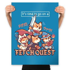 Fetch Quest - Prints - Posters - RIPT Apparel