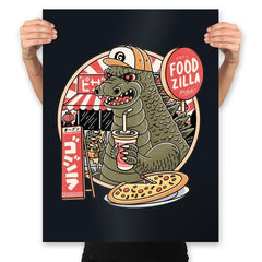 Foodzilla - Prints - Posters - RIPT Apparel
