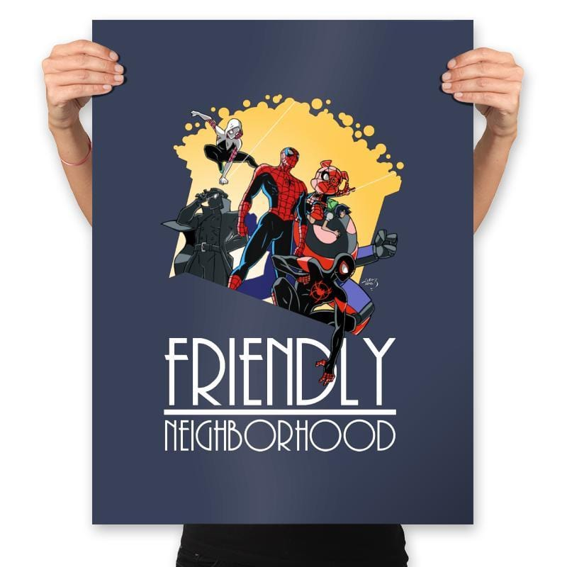 Friendly Neighborhood - Anytime - Prints - Posters - RIPT Apparel