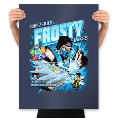 Frosty Flakes Cereal - Anytime - Prints - Posters - RIPT Apparel