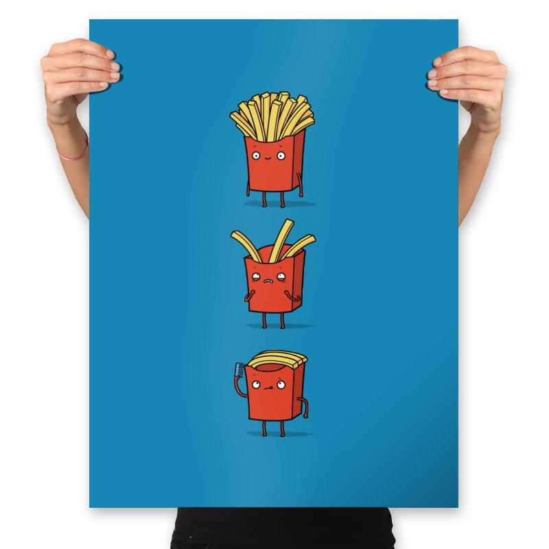 Fry Loss - Prints - Posters - RIPT Apparel