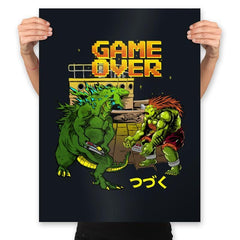 Game Over - Prints - Posters - RIPT Apparel