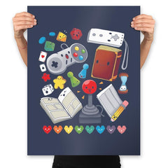 Game World - Prints - Posters - RIPT Apparel